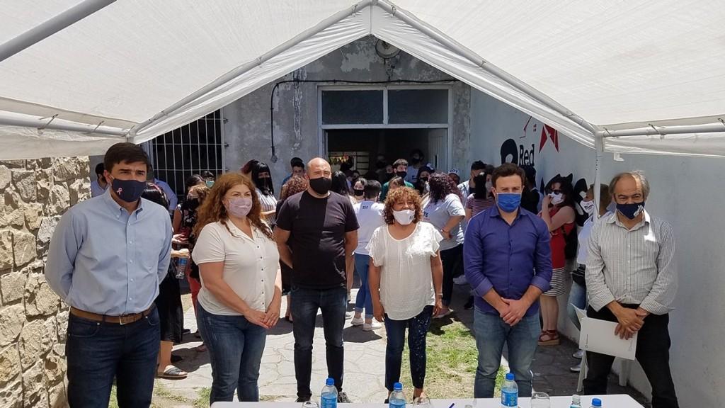 Olavarría tiene Casa de Atención y Acompañamiento Terapéutico con patrocinio de la SEDRONAR