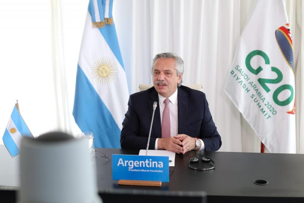 'La Argentina está comprometida con una agenda de transición justa hacia el desarrollo integral y sostenible'