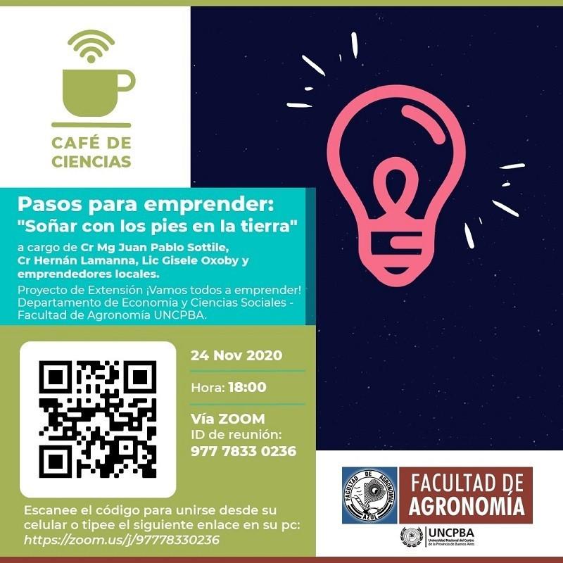 Café de Ciencias, nueva edición