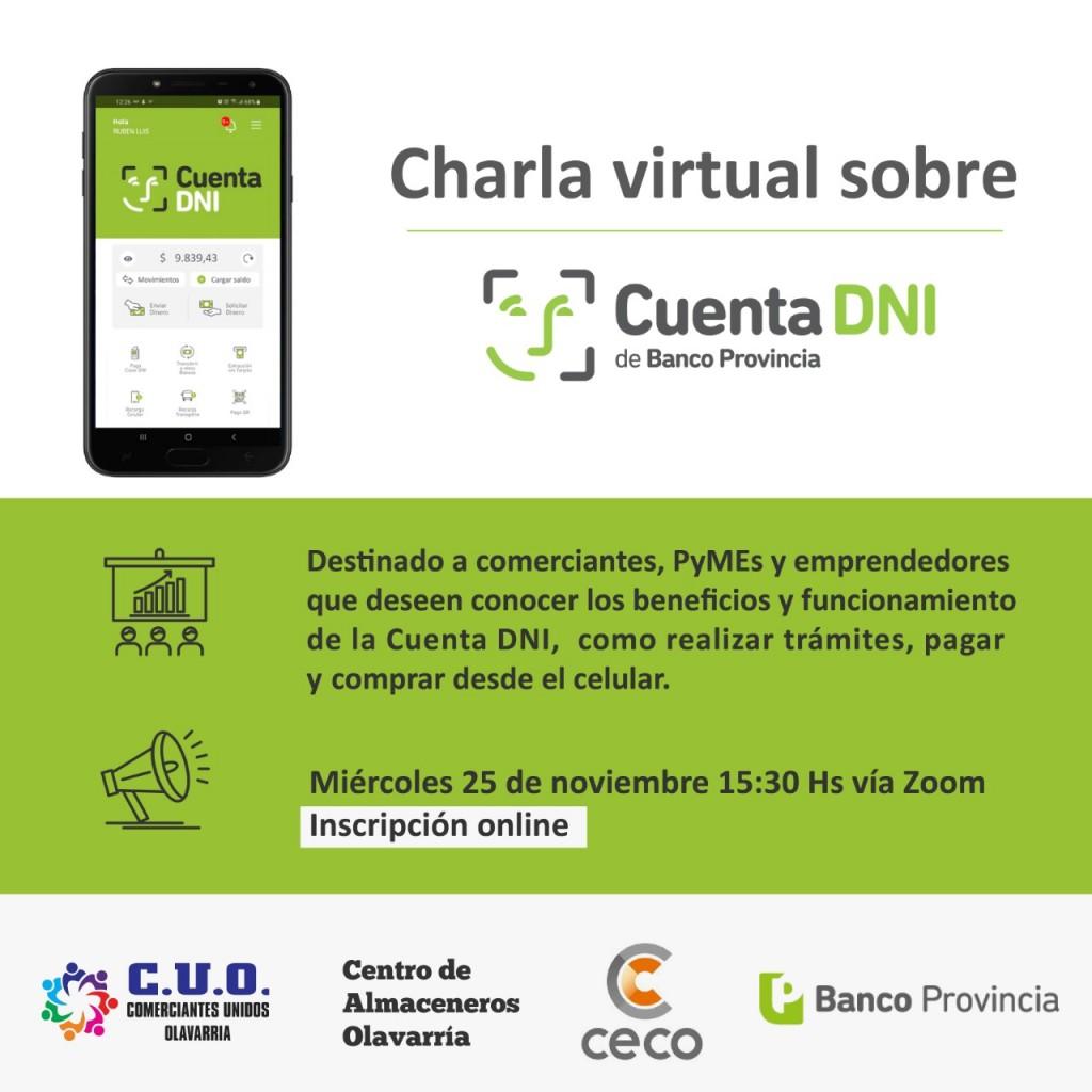Difunden beneficios de la app Cuenta DNI del Banco Provincia