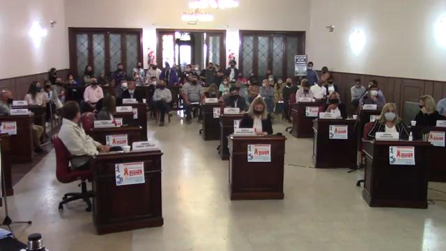 En Asamblea y de forma ordinaria, sesiona el Concejo