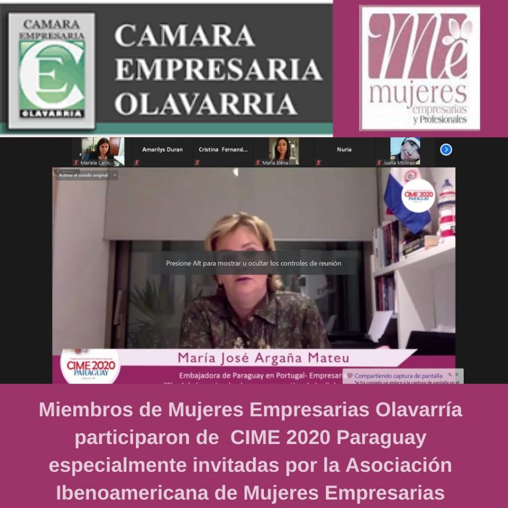 Mujeres empresarias olavarrienses participaron de Congreso Iberoamericano