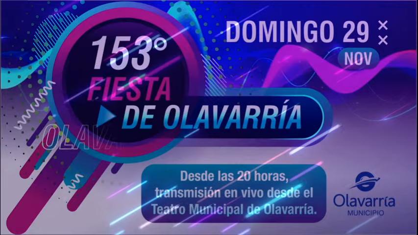Festejo oficial por los 153 años de Olavarría