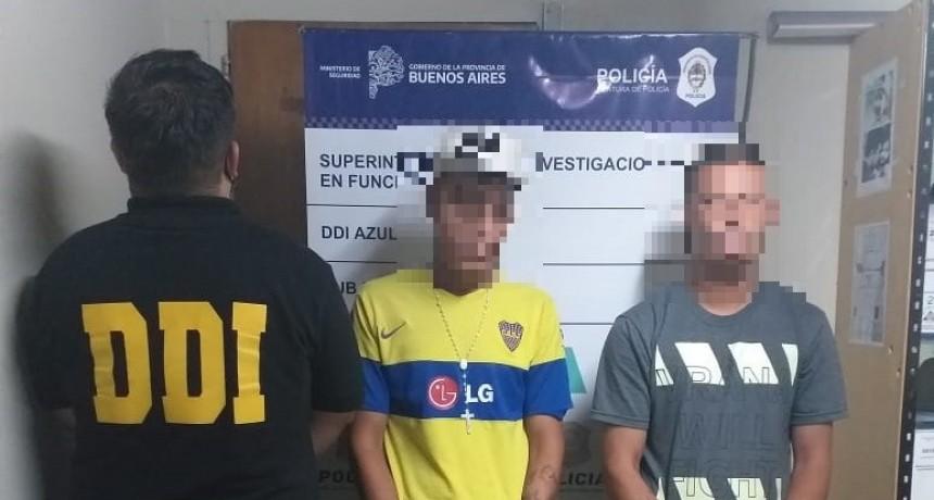 Dos detenidos acusados de formar parte de la 'Banda de los encapuchados'