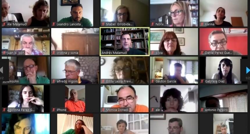 Unos 100 radicales reflexionaron sobre el lugar de la UCR en Juntos por el Cambio