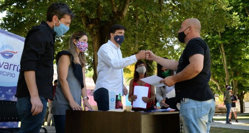 Cultura y Turismo: el Intendente Galli entregó subsidios