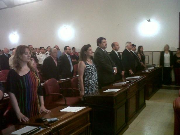 Se conformó el nuevo Concejo Deliberante de Olavarría: Eduardo Rodríguez es el nuevo Presidente. Los nuevos concejales juraron a sala repleta