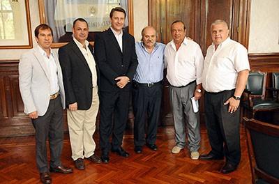 Alvear: el Intendente Cellillo se reunió con el Ministro Granados
