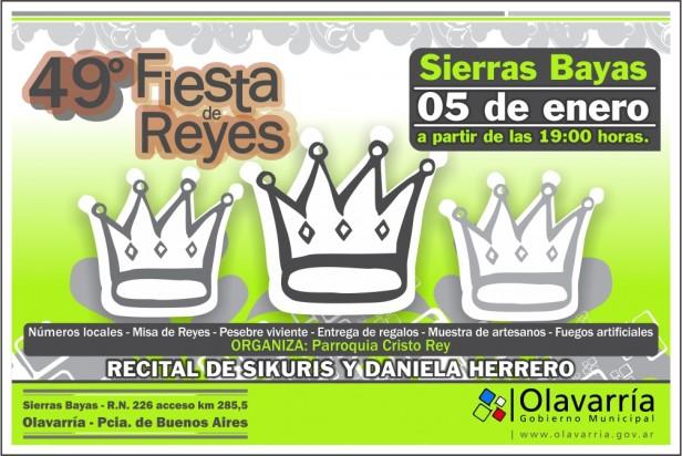 Daniela Herrero hará el cierre de la 49º Fiesta de los Reyes Magos