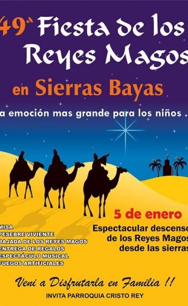 Ya se trabaja para la realización de la tradicional Fiesta de Reyes Magos en Sierras Bayas