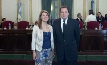 Los senadores provinciales recibieron sus diplomas