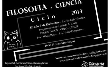 Filosofía y Ciencia Ciclo 2013