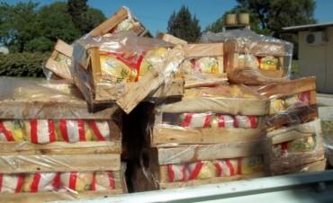 Decomisaron 800 kilos de pollos en los controles de Bromatología