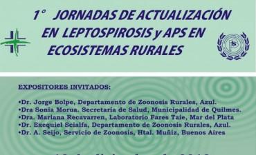 Primeras Jornadas de Actualización en Leptospirosis y APS en Ecosistemas Rurales