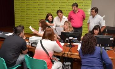 Pro.Cre.Ar: en el Salón Rivadavia continúa la inscripción al Registro de Aspirantes para terrenos municipales
