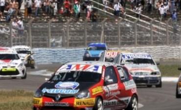 TN en La Pampa: No pudo ser para Agustín Herrera. La rotura de un neumático fue la causa.