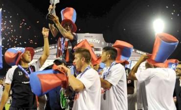 San Lorenzo campeón: festejos en el centro de Olavarría