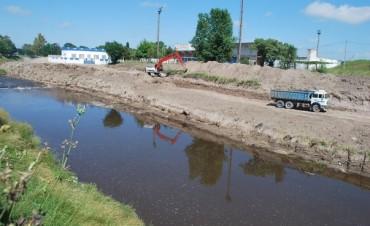 El Gobierno Municipal invirtió más de $ 6 millones en obras de defensa contra las inundaciones