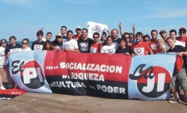 Los jóvenes intransigentes participaron del primer campamento de la Juventud en Necochea