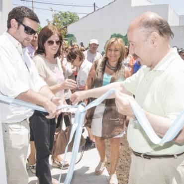 Azul:Se inauguró en Chillar el Centro de Atención Comunitario
