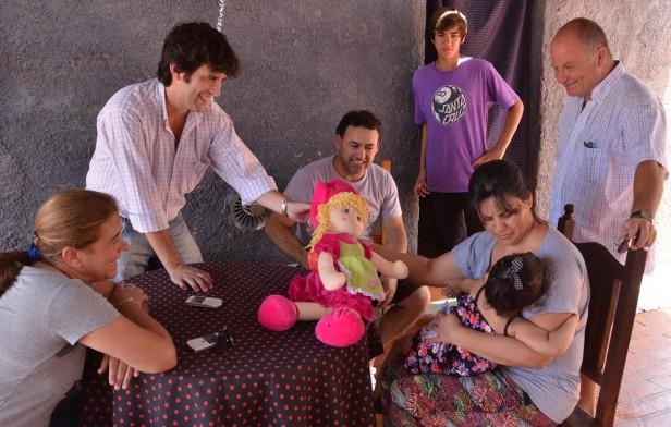 Cumplió dos años la primera beba nacida por un tratamiento gratuito de fertilización en Olavarría
