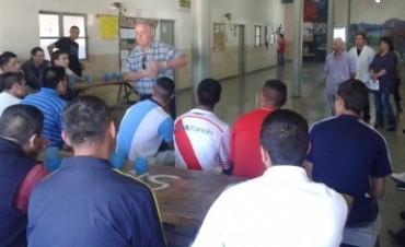 Más de 50 internos fueron certificados en Formación Profesional