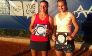 Gran actuación de María Emilia Alfaro en un torneo COSAT