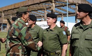 El General Milani llega nuevamente a Olavarría