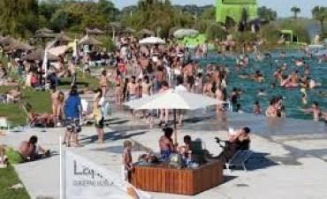 Laprida inaugura la temporada en el balneario El Paraíso