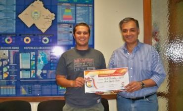 El CECO premió a dos nuevos afiliados
