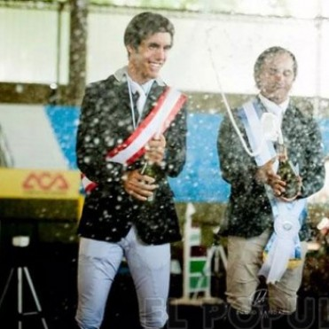Equitación:  Santiago Orifici subcampeón nacional