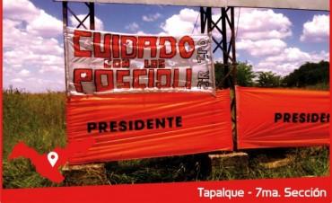"""Llamativa campaña radical por la Ruta 51: muestran los """"PoScioli"""""""