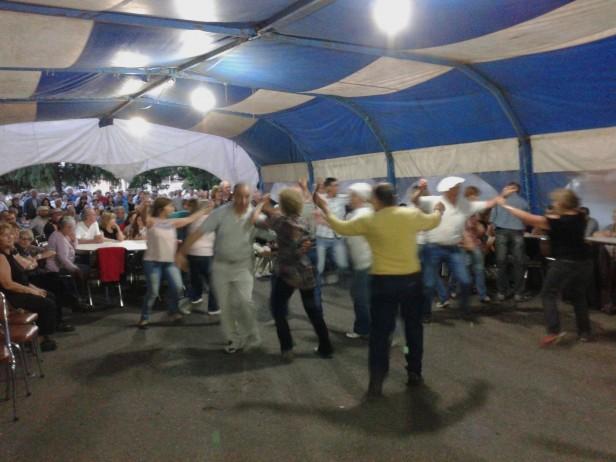 Una multitud en la última jornada del Festival Nacional de Doma y Folklore