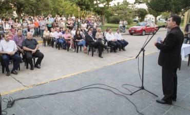 Asumieron los delegados de localidades azuleñas