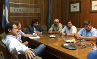 La Mesa Agropecuaria se reunió con el intendente Galli