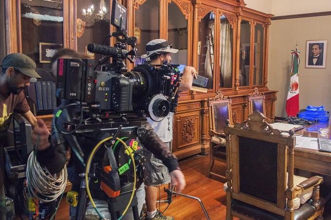 Azul, escenario de un documental internacional