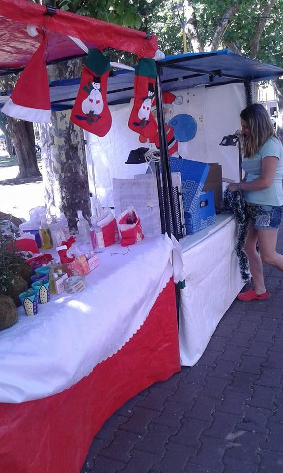Feria de emprendedores en la Plaza Central