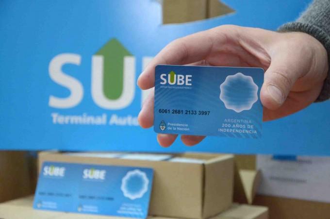 Comienza la entrega de SUBE en las localidades