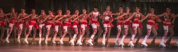El patín de Boca Junior cierra la temporada con su tradicional show