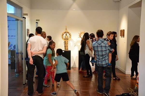 Inauguraron las últimas muestras del año en el Museo Dámaso Arce