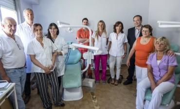 Azul: Importante remodelación del sector de Odontología del Hospital