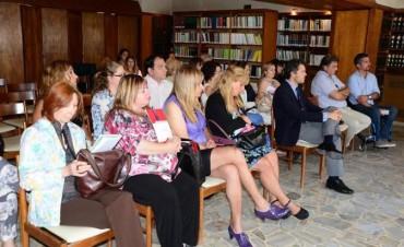Olavarría en el lanzamiento del Instituto de Discapacidad y Derechos Humanos en Azul