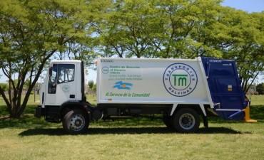 """""""Olavarría más limpia"""": se incorpora equipamiento para mejorar el servicio de recolección"""