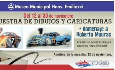 Hasta este domingo se puede visitar el homenaje a Roberto Mouras