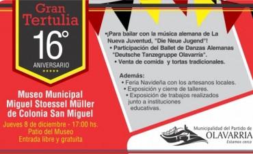 El Museo Municipal de Colonia San Miguel festejó sus 16 años