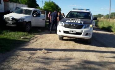 Secuestro de camioneta