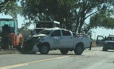 3 heridos en un accidente sobre Puente Querandies