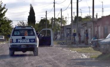Detenidos y herido de bala en incidentes en el Barrio Trabajadores
