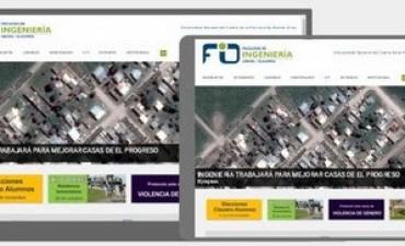 Nuevo sitio web de la Facultad de Ingeniería