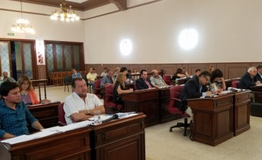 Sesiona el Concejo Deliberante para tratar el pedido de aumento de tasas